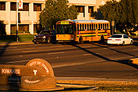 /images/133/2008-12-10-tempe-kiwanis-school-61358.jpg - #06406: School bus and traffic at Kiwanis Park … December 2008 -- Kiwanis Park, Tempe, Arizona