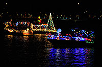 /images/133/2008-12-13-tempe-lights-boats-62923.jpg - #06433: Boat #25 - APS Fantasy of Lights Boat Parade … December 2008 -- Tempe Town Lake, Tempe, Arizona