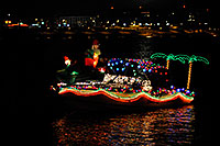/images/133/2008-12-13-tempe-lights-boats-63357.jpg - #06441: Boat #32 - APS Fantasy of Lights Boat Parade … December 2008 -- Tempe Town Lake, Tempe, Arizona