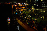/images/133/2008-12-13-tempe-lights-people-63719.jpg - #06452: Spectators at APS Fantasy of Lights Boat Parade … December 2008 -- Tempe Town Lake, Tempe, Arizona