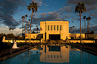 /images/133/2008-12-23-mesa-temple-bride-66325.jpg - 06548: Mesa Temple west side … December 2008 -- Mesa Arizona Temple, Mesa, Arizona