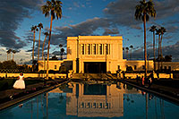 /images/133/2008-12-23-mesa-temple-bride-66331.jpg - #06550: Mesa Temple west side … December 2008 -- Mesa Arizona Temple, Mesa, Arizona