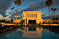 /images/133/2008-12-23-mesa-temple-bride-66355.jpg - #06553: Mesa Temple west side … December 2008 -- Mesa Arizona Temple, Mesa, Arizona