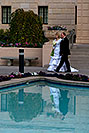 /images/133/2008-12-24-mesa-temple-bride-66685v.jpg - #06567: Bride and Groom at Mesa Arizona Temple … December 2008 -- Mesa Arizona Temple, Mesa, Arizona