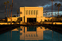 /images/133/2008-12-25-mesa-temple-west-66859.jpg - #06588: Reflection from west side of Mesa Arizona Temple … December 2008 -- Mesa Arizona Temple, Mesa, Arizona
