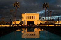 /images/133/2008-12-25-mesa-temple-west-66862.jpg - #06589: Reflection from west side of Mesa Arizona Temple … December 2008 -- Mesa Arizona Temple, Mesa, Arizona