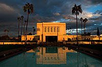 /images/133/2008-12-25-mesa-temple-west-66889.jpg - #06591: Reflection from west side of Mesa Arizona Temple … December 2008 -- Mesa Arizona Temple, Mesa, Arizona