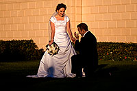 /images/133/2008-12-27-mesa-temple-brides-68026.jpg - #06618: Bride and Groom at Mesa Arizona Temple … December 2008 -- Mesa Arizona Temple, Mesa, Arizona