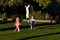 /images/133/2008-12-27-mesa-temple-girls-68074.jpg - #06627: Kids at the West side of Mesa Arizona Temple … December 2008 -- Mesa Arizona Temple, Mesa, Arizona