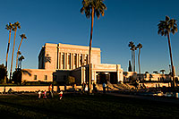 /images/133/2008-12-27-mesa-temple-girls-68207.jpg - #06629: People at the West side of Mesa Arizona Temple … December 2008 -- Mesa Arizona Temple, Mesa, Arizona