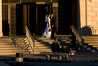 /images/133/2008-12-29-mesa-temple-brides-69074.jpg - #06654: Bride and Groom at West side of Mesa Arizona Temple … December 2008 -- Mesa Arizona Temple, Mesa, Arizona