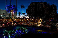 /images/133/2008-12-29-mesa-temple-lights-69142.jpg - #06659: Christmas decorations by Mesa Arizona Temple … December 2008 -- Mesa Arizona Temple, Mesa, Arizona