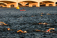/images/133/2009-09-27-nathan-tri-swim-113851.jpg - 07493: 00:35:29 - Swimmers at Nathan Triathlon … September 2009 -- Tempe Town Lake, Tempe, Arizona