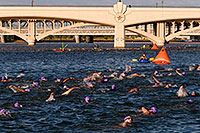 /images/133/2009-10-11-pbr-off-tri-swim-115317.jpg - #07572: 00:09:35  Swimmers (Third Heat: Ladies) - PBR Offroad Triathlon, Oct 11, 2009 at Tempe Town Lake … October 2009 -- Tempe Town Lake, Tempe, Arizona