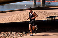 /images/133/2009-10-25-soma-run-119869.jpg - #07681: 03:36:41 Runner at Soma Triathlon … October 25, 2009 -- Tempe Town Lake, Tempe, Arizona