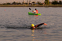 /images/133/2009-10-30-tempe-splash-swim-120349.jpg - #07762: 00:14:44 into the race - Splash and Dash Fall #4, October 30, 2009 at Tempe Town Lake … October 2009 -- Tempe Town Lake, Tempe, Arizona