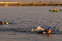 /images/133/2009-10-30-tempe-splash-swim-120376.jpg - #07765: 00:15:50 into the race - Splash and Dash Fall #4, October 30, 2009 at Tempe Town Lake … October 2009 -- Tempe Town Lake, Tempe, Arizona