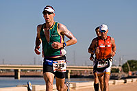 /images/133/2009-11-22-ironman-run-126759.jpg - #07930: 07:39:07 #298 and #1989 running - Ironman Arizona 2009 … November 2009 -- Tempe Town Lake, Tempe, Arizona