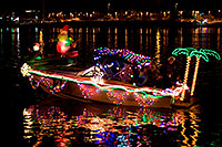 /images/133/2009-12-12-tempe-aps-lights-128142.jpg - #07959: Boat #21 at APS Fantasy of Lights Boat Parade … December 2009 -- Tempe Town Lake, Tempe, Arizona