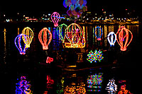 /images/133/2009-12-12-tempe-aps-lights-128246.jpg - #07961: Boat #12 at APS Fantasy of Lights Boat Parade … December 2009 -- Tempe Town Lake, Tempe, Arizona