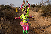 /images/133/2009-12-13-muddy-buddy-129504.jpg - #07990: Couple in skirts at Muddy Buddy Race 2009 … Dec 13, 2009 -- McDowell Mountain Park, Fountain Hills, Arizona