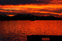 /images/133/2010-01-08-tempe-lake-sunset-131658.jpg - #08045: Sunset at Tempe Town Lake … January 2010 -- Tempe Town Lake, Tempe, Arizona
