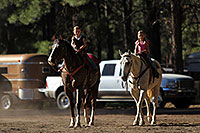 /images/133/2010-06-05-naha-horses-1066.jpg - #08079: Morning at NAHA Horseback riding event in Flagstaff … June 2010 -- Fort Tuthill County Park, Flagstaff, Arizona