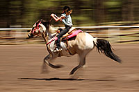 /images/133/2010-06-05-naha-horses-speed-2082.jpg - #08102: NAHA Pole Bending event in Flagstaff … June 2010 -- Fort Tuthill County Park, Flagstaff, Arizona