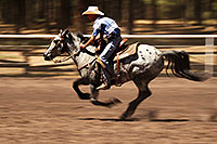 /images/133/2010-06-05-naha-horses-speed-2503.jpg - #08110: NAHA Turn and Burn event in Flagstaff … June 2010 -- Fort Tuthill County Park, Flagstaff, Arizona