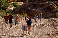/images/133/2010-06-19-havasu-people-6117.jpg - #08134: Along Havasupai Trail … June 2010 -- Havasupai Trail, Havasu Falls, Arizona