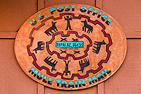 /images/133/2010-06-21-havasu-mail-7465.jpg - #08166: U.S. Post Office, Mule Train Mail - Supai, AZ 86435 - Established 1896 … June 2010 -- Supai, Havasu Falls, Arizona