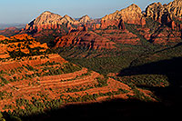 /images/133/2010-07-12-sedona-morning-16260.jpg - #08232: Morning in Sedona … July 2010 -- Schnebly Hill, Sedona, Arizona