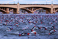 /images/133/2010-11-21-ironman-swim-43827.jpg - #08988: 00:03:11 - Starting the swim - Ironman Arizona 2010 … November 2010 -- Tempe Town Lake, Tempe, Arizona