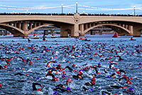 /images/133/2010-11-21-ironman-swim-43871.jpg - #08967: 00:04:19 - Starting the swim - Ironman Arizona 2010 … November 2010 -- Tempe Town Lake, Tempe, Arizona