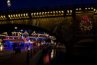 /images/133/2010-12-13-havasu-bridge-46754.jpg - #08972: Christmas at London Bridge in Lake Havasu City … December 2010 -- London Bridge, Lake Havasu City, Arizona
