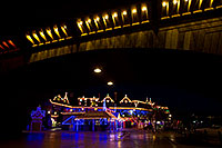 /images/133/2010-12-13-havasu-bridge-46772.jpg - #08975: Christmas at London Bridge in Lake Havasu City … December 2010 -- London Bridge, Lake Havasu City, Arizona