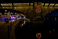 /images/133/2010-12-13-havasu-bridge-46785.jpg - #08977: Christmas at London Bridge in Lake Havasu City … December 2010 -- London Bridge, Lake Havasu City, Arizona