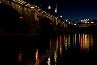 /images/133/2010-12-13-havasu-bridge-46798.jpg - #08979: Christmas at London Bridge in Lake Havasu City … December 2010 -- London Bridge, Lake Havasu City, Arizona
