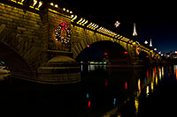 /images/133/2010-12-13-havasu-bridge-46799.jpg - #08980: Christmas at London Bridge in Lake Havasu City … December 2010 -- London Bridge, Lake Havasu City, Arizona