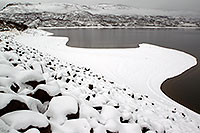 /images/133/2010-12-19-gunnison-lake-47055.jpg - #08988: Snow by Gunnison … December 2010 -- Gunnison, Colorado