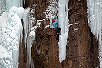 /images/133/2011-01-09-ouray-climbers-48169.jpg - #09031: Ice climbing by Ouray … January 2011 -- Ouray, Colorado