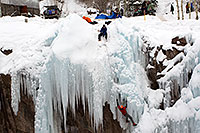 /images/133/2011-01-09-ouray-climbers-48434.jpg - #09045: Ice climbing by Ouray … January 2011 -- Ouray, Colorado