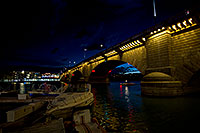 /images/133/2011-04-02-havasu-bridge-night-65920.jpg - #09124: Night at London Bridge in Lake Havasu City … April 2011 -- London Bridge, Lake Havasu City, Arizona