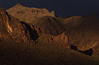/images/133/2011-05-18-supers-dark-70911.jpg - #09199: Evening in Superstitions … May 2011 -- Superstitions, Arizona