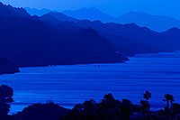 /images/133/2011-05-23-havasu-bill-silhouet-71473.jpg - #09219: Evening mountain silhouettes at Lake Havasu … May 2011 -- Lake Havasu, Arizona