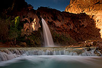/images/133/2011-06-25-havasu-falls-79504.jpg - #09338: Havasu Falls at sunrise … June 2011 -- Havasu Falls!, Havasu Falls, Arizona
