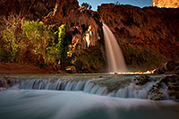 /images/133/2011-06-26-havasu-falls-79749.jpg - #09344: Havasu Falls at sunrise … June 2011 -- Havasu Falls!, Havasu Falls, Arizona