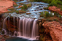 /images/133/2011-06-26-havasu-rock-falls-80617.jpg - #09352: Evening at Rock Falls … June 2011 -- Rock Falls, Havasu Falls, Arizona