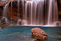 /images/133/2011-06-26-havasu-rock-falls-80641.jpg - #09354: Evening at Rock Falls … June 2011 -- Rock Falls, Havasu Falls, Arizona