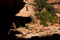 /images/133/2011-06-27-hava-canyon-swater-80800.jpg - #09360: Along Havasupai Trail … June 2011 -- Havasupai Trail, Havasu Falls, Arizona